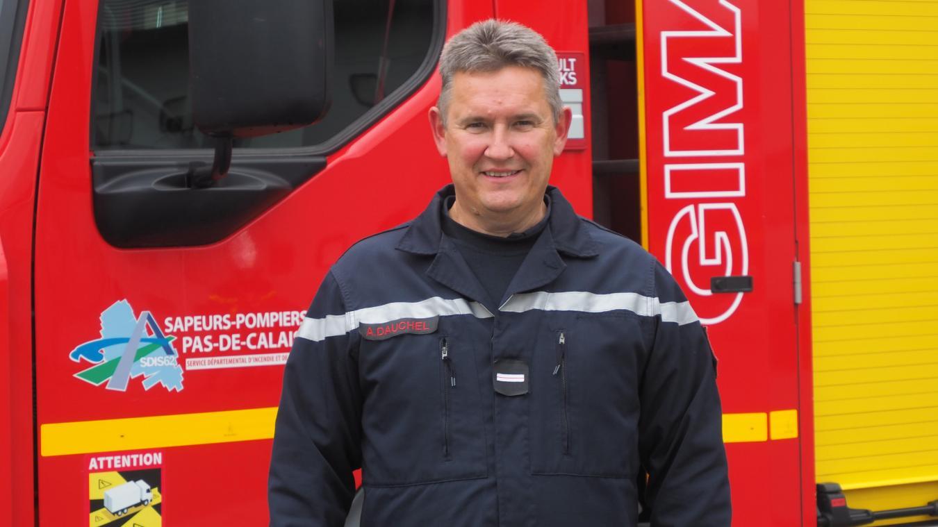 Calais : Albert Dauchel a quitté la caserne des pompiers après 35 années de service