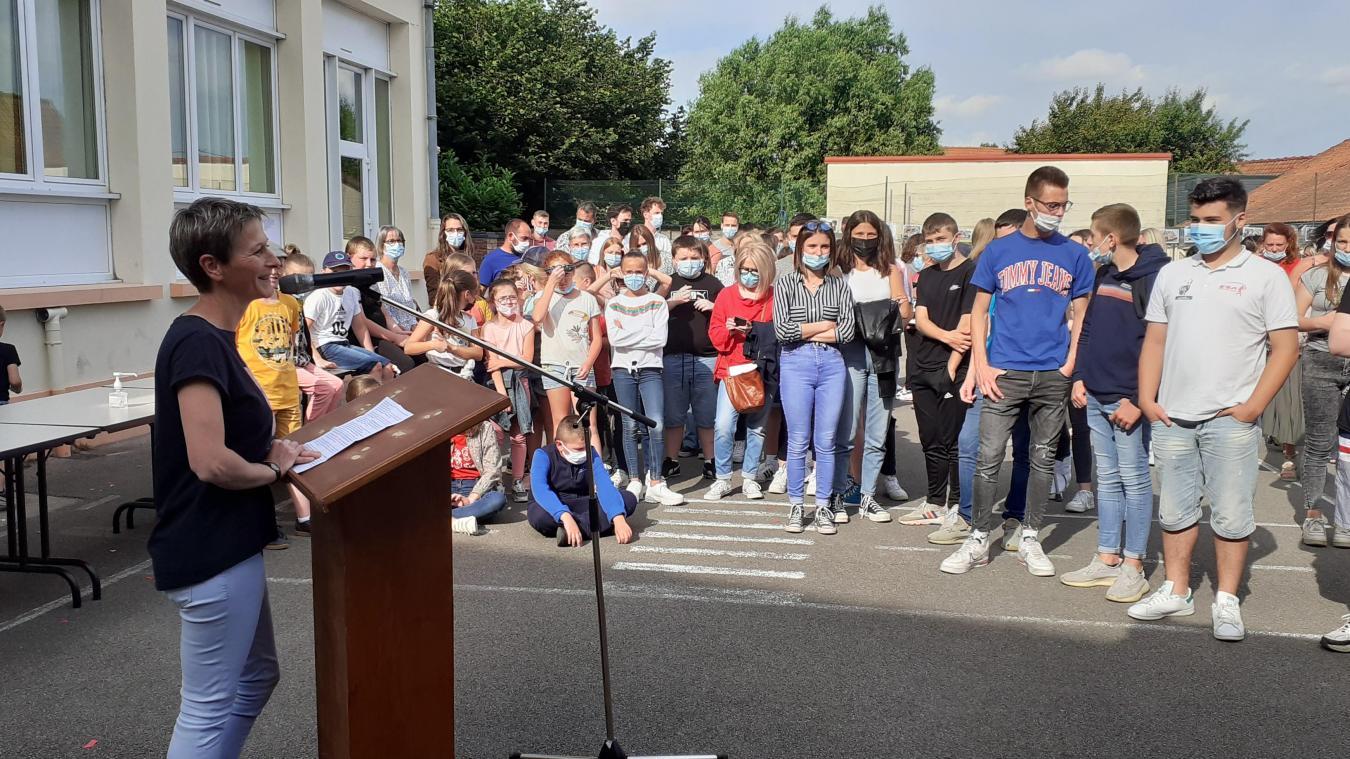 Stéphanie Dupont a franchi la porte de l'école de Blessy pour la première fois en septembre 2001.