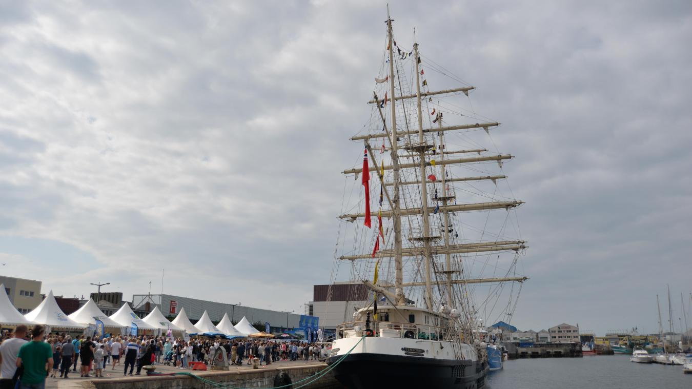 La grande parade maritime aura lieu à 17h30.
