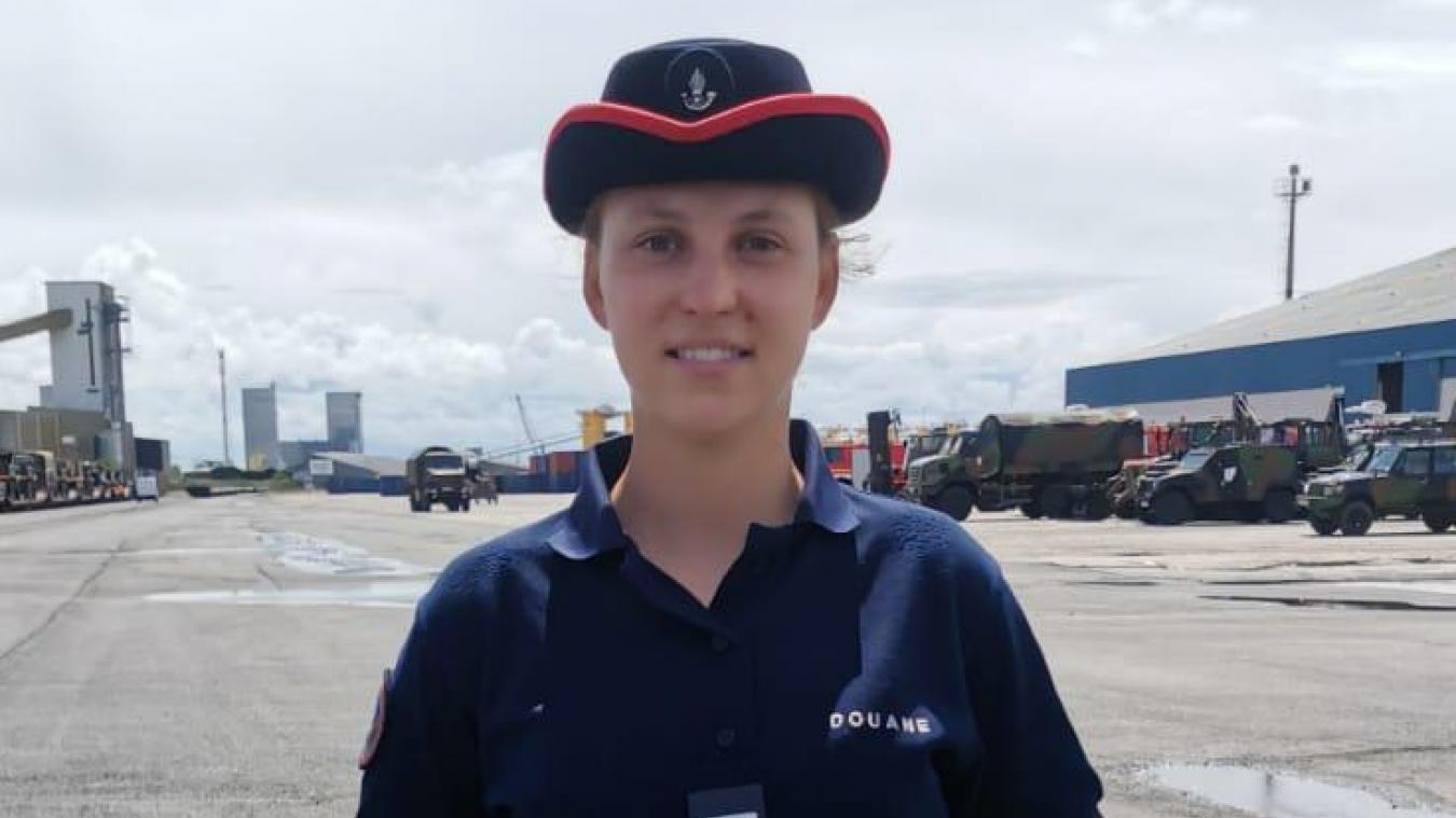 Flora Lehmann fera partie du bataillon douanier qui défilera sur les Champs-Élysées à l'occasion du 14-Juillet. L'occasion de représenter sa profession, mais aussi plus spécifiquement la brigade dunkerquoise.