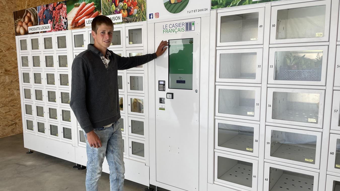 Le distributeur automatique Plaine de saveurs s'ajoute aux commerces de la commune.