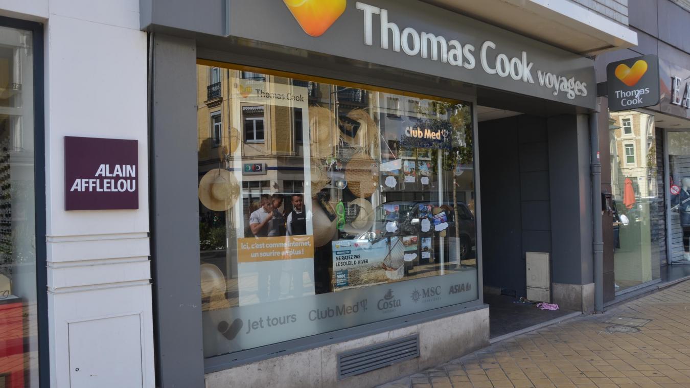 Thomas Cook à Calais se trouvait boulevard Jacquard.