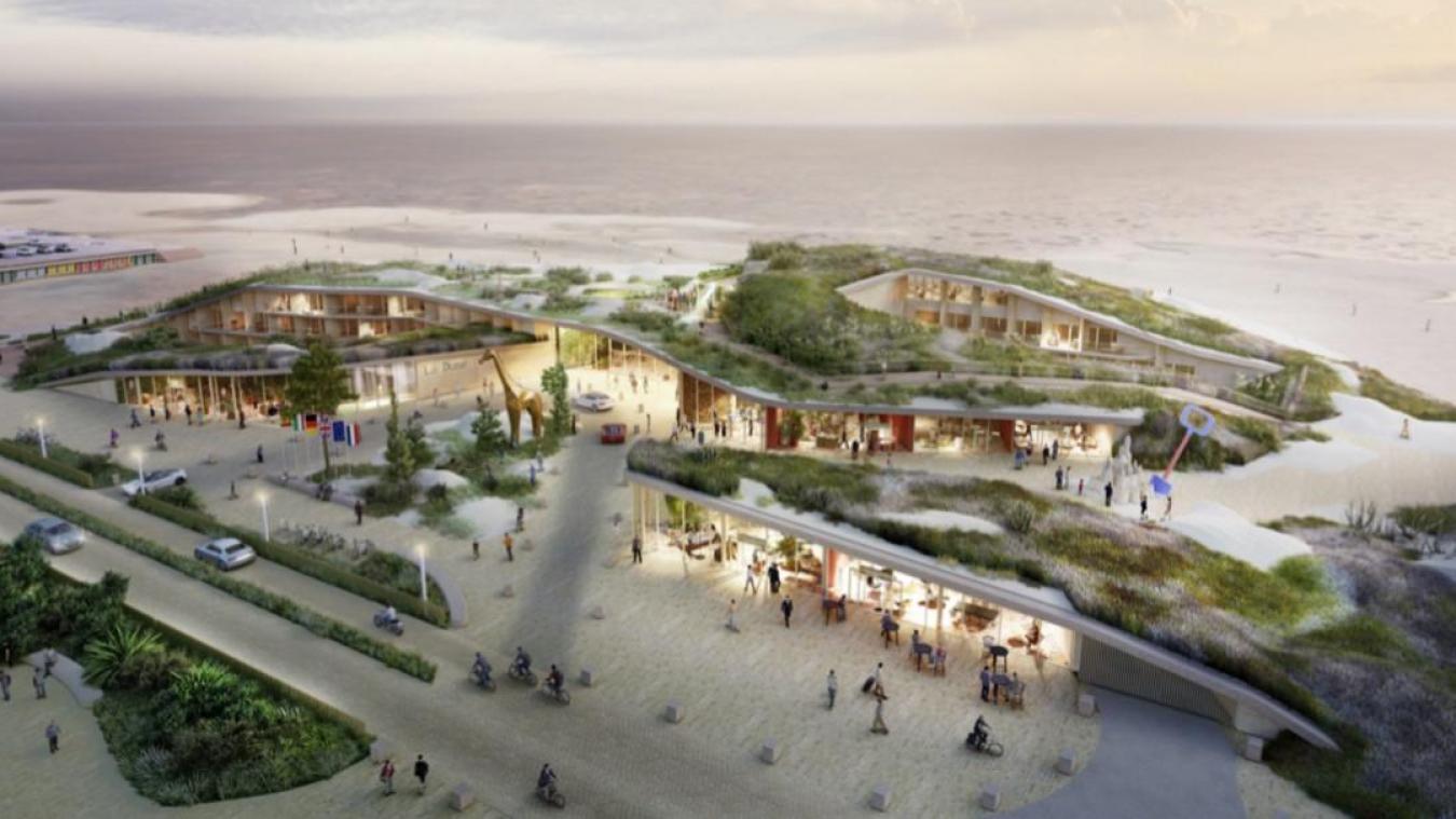 Le complexe hôtelier The Dune doit ouvrir à l'été 2024, selon le calendrier prévisionnel.