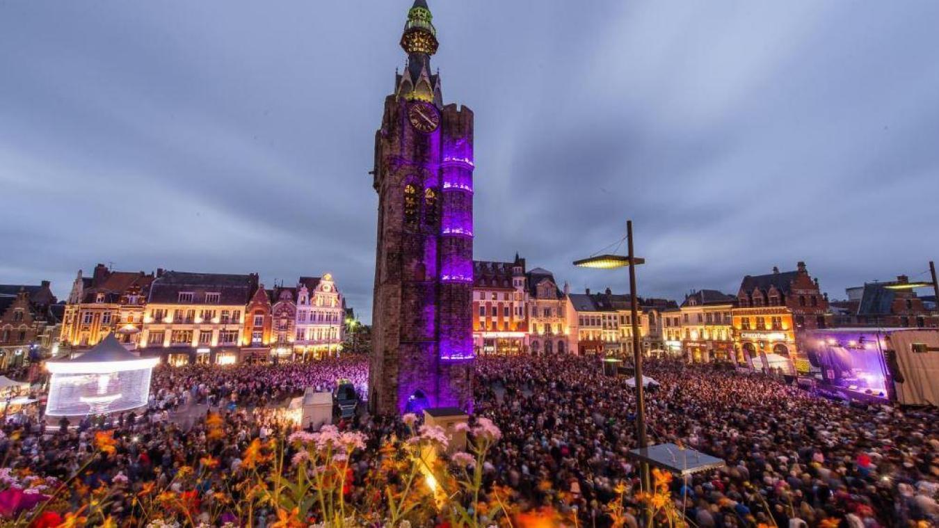 Pour les concerts du 14 juillet, une jauge maxi de 6 000 personnes a été décidée par la Ville en concertation avec les services de l'État.