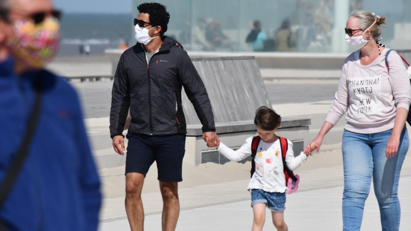 Le masque va à nouveau être obligatoire sur la digue de Dunkerque, entre autres.