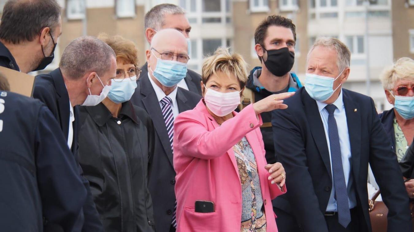 Calais : le front de mer officiellement inauguré