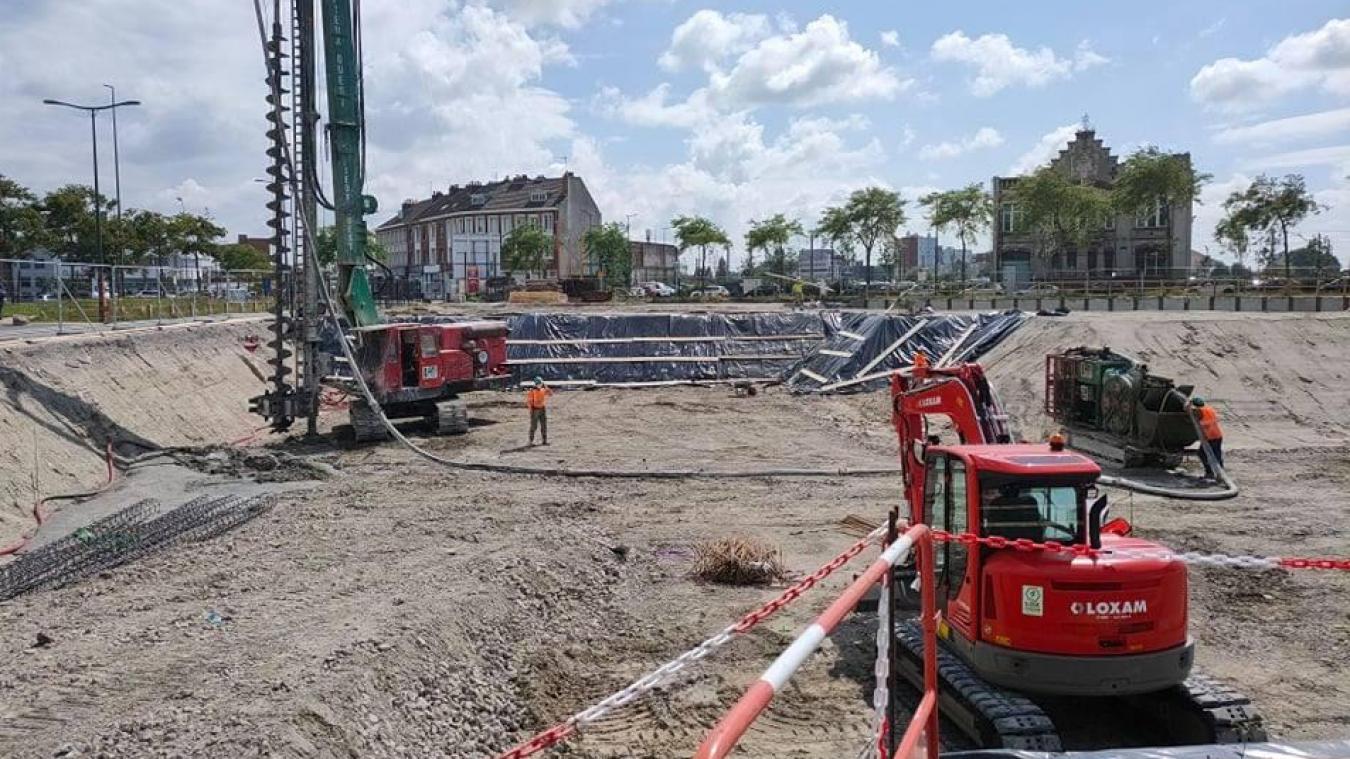 Le site se situe à côté du Pôle marine, sur le quai de Leith. Le chantier devrait durer un an.