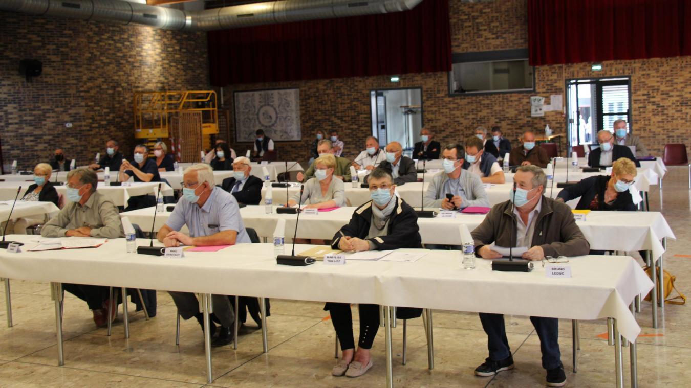 Les délégués communautaires ont voté à l'unanimité une motion contre fermeture de la Trésorerie de Desvres.