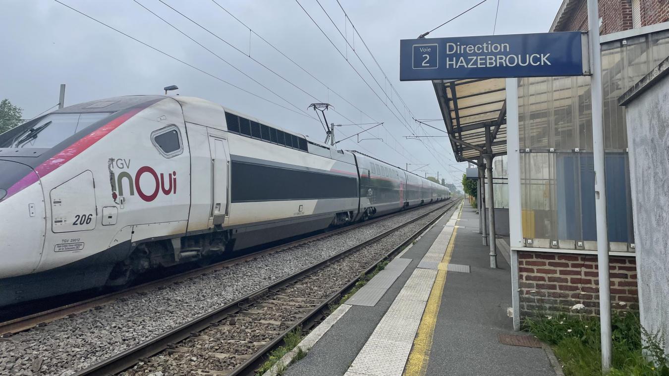 À la gare d'Esquelbecq, voyageurs et habitants ont constaté un manque d'entretien des quais et des pannes régulières du distributeur.