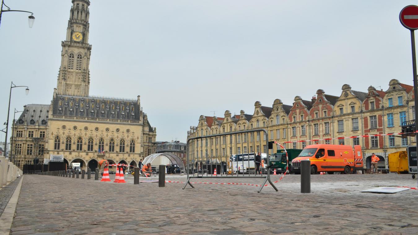 Les auteurs du projet ont parcouru Arras en surface, mais aussi en sous-sol, y compris dans la carrière Wellington.