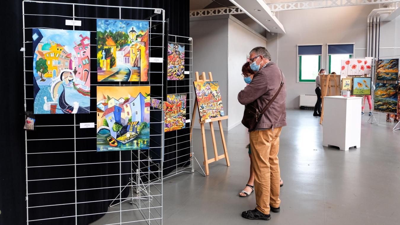 Une magnifique exposition à découvrir, salle de la Corderie, à Étaples, jusqu'au 18 juillet.