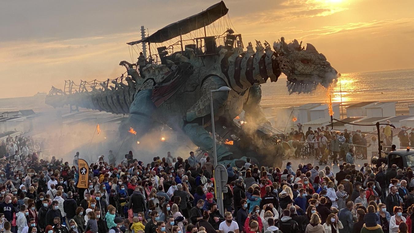 Le Dragon va de nouveau parcourir le front de mer ce mercredi 14 juillet.