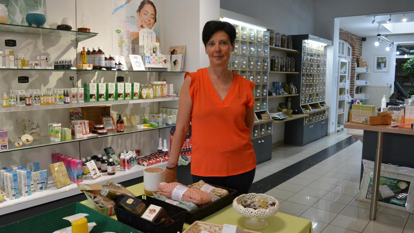 Helène Delalleau – de Saint Laurent était cliente de l'herboristerie avant d'en devenir la gérante.