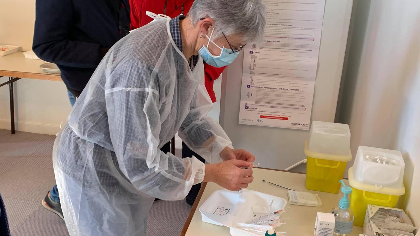 L'équipe du centre de vaccination d'Hazebrouck s'est réorganisée pour ouvrir de nouveaux créneaux en août.