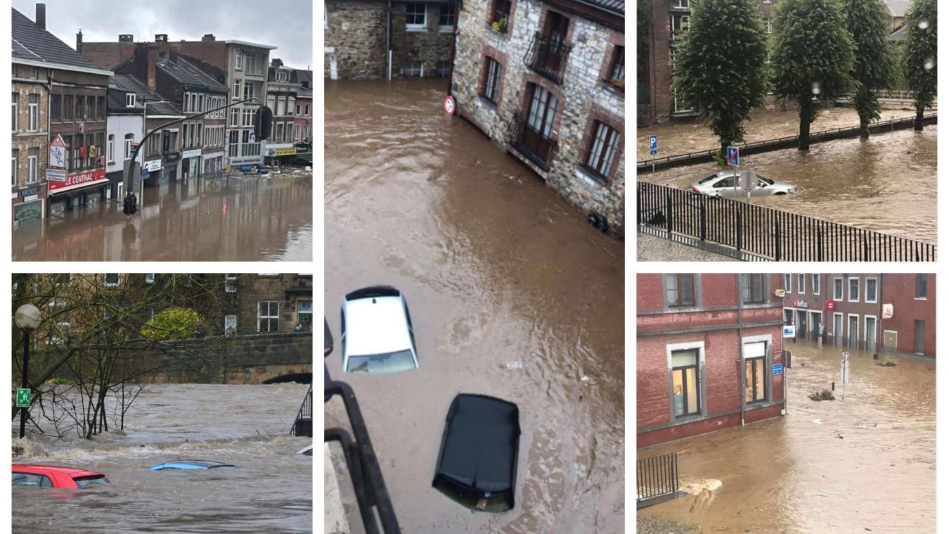 Des dizaines de milliers de personnes sont touchées par les intempéries aux quatre coins de la Belgique