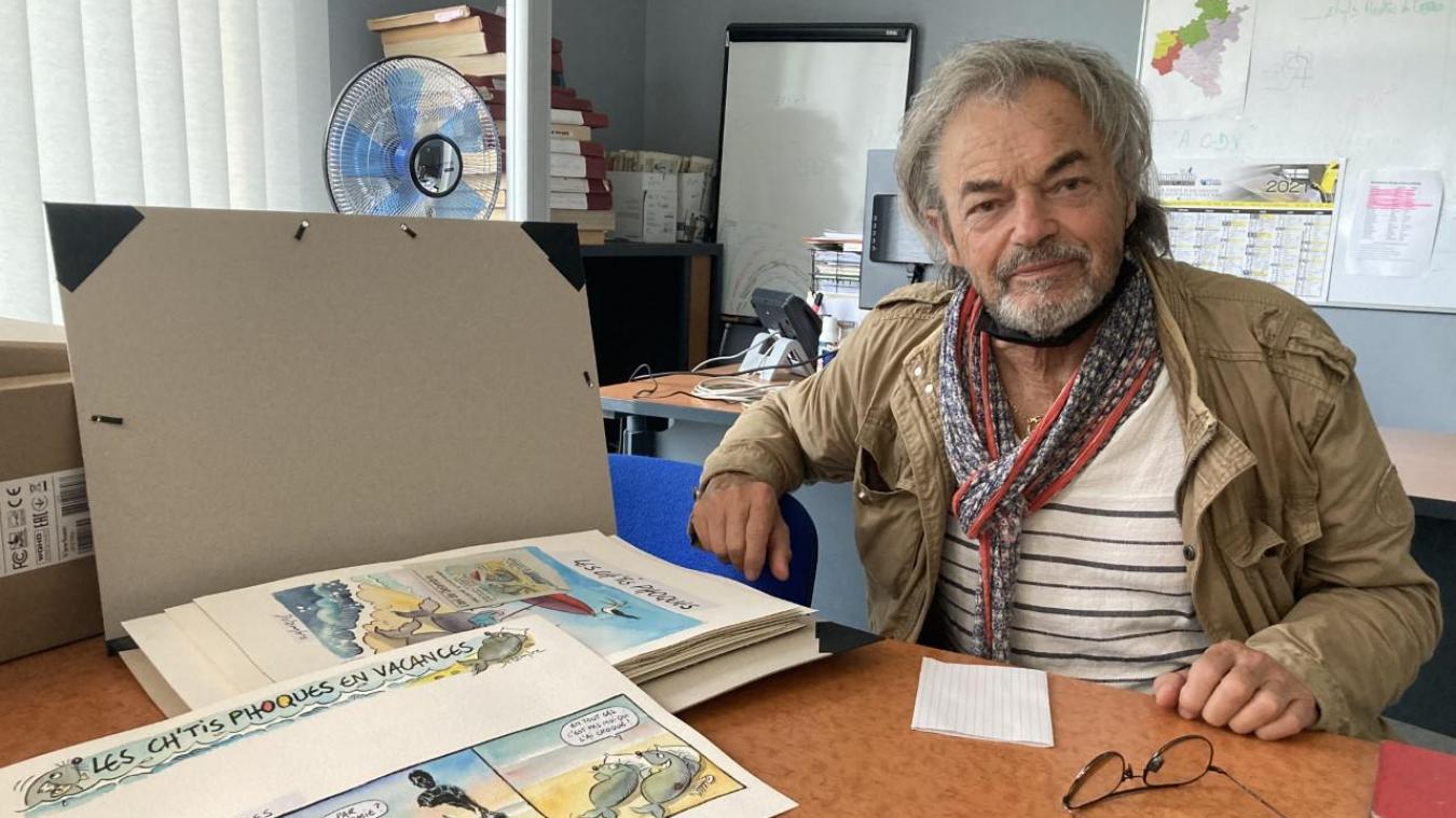 Jean-Michel Delambre garde un œil attentif à l'actualité de la Côte d'Opale.