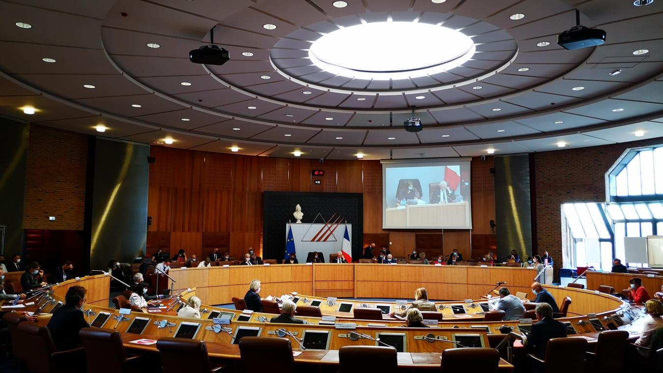 Le Conseil départemental du Pas-de-Calais tenait sa deuxième séance plénière ce jeudi.