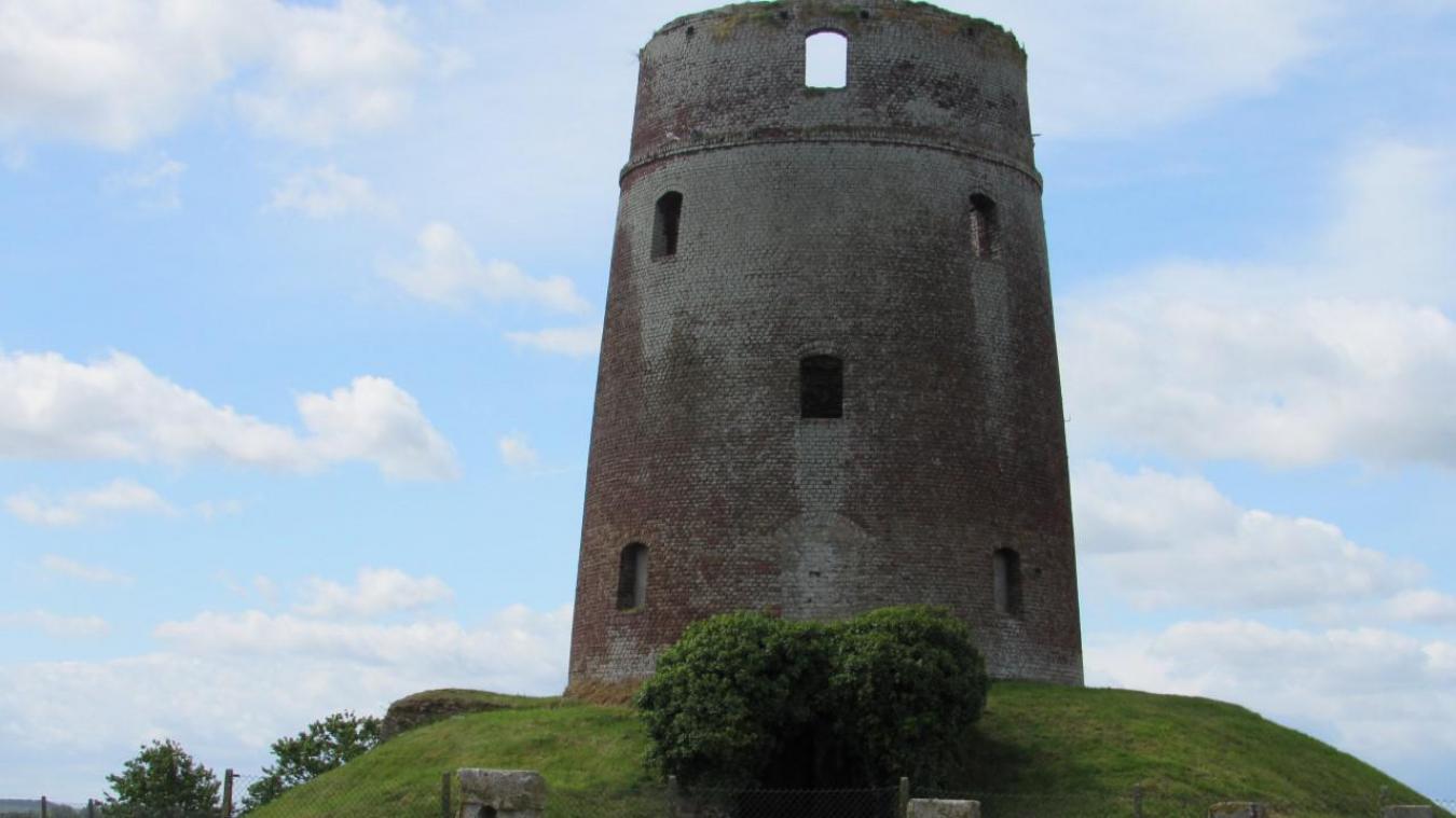 Le moulin de Looberghe a été classé monument historique en novembre 1977.