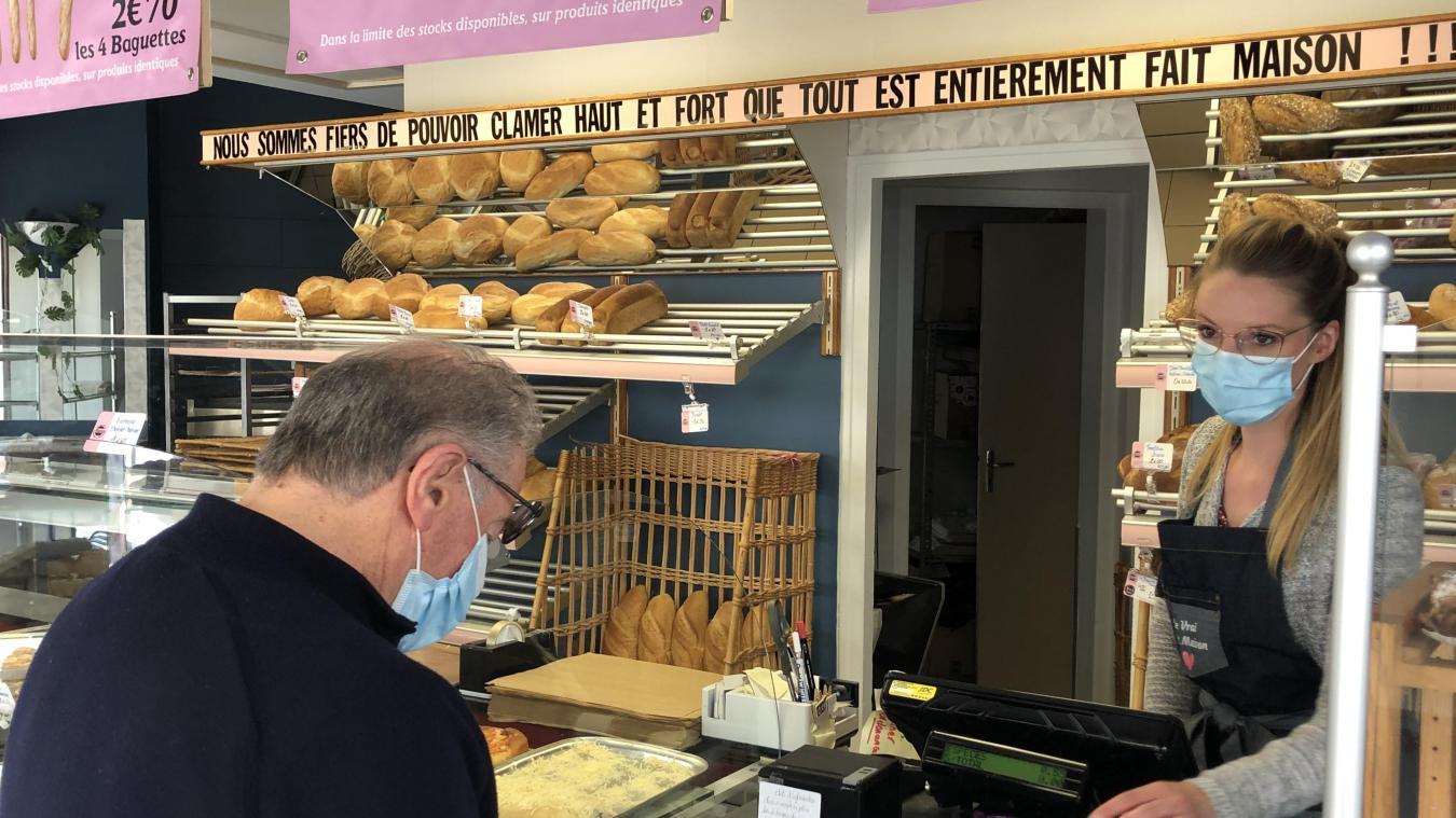 À Berck-sur-Mer, a boulangerie La petite princesse placarde son savoir-faire et son artisanat.