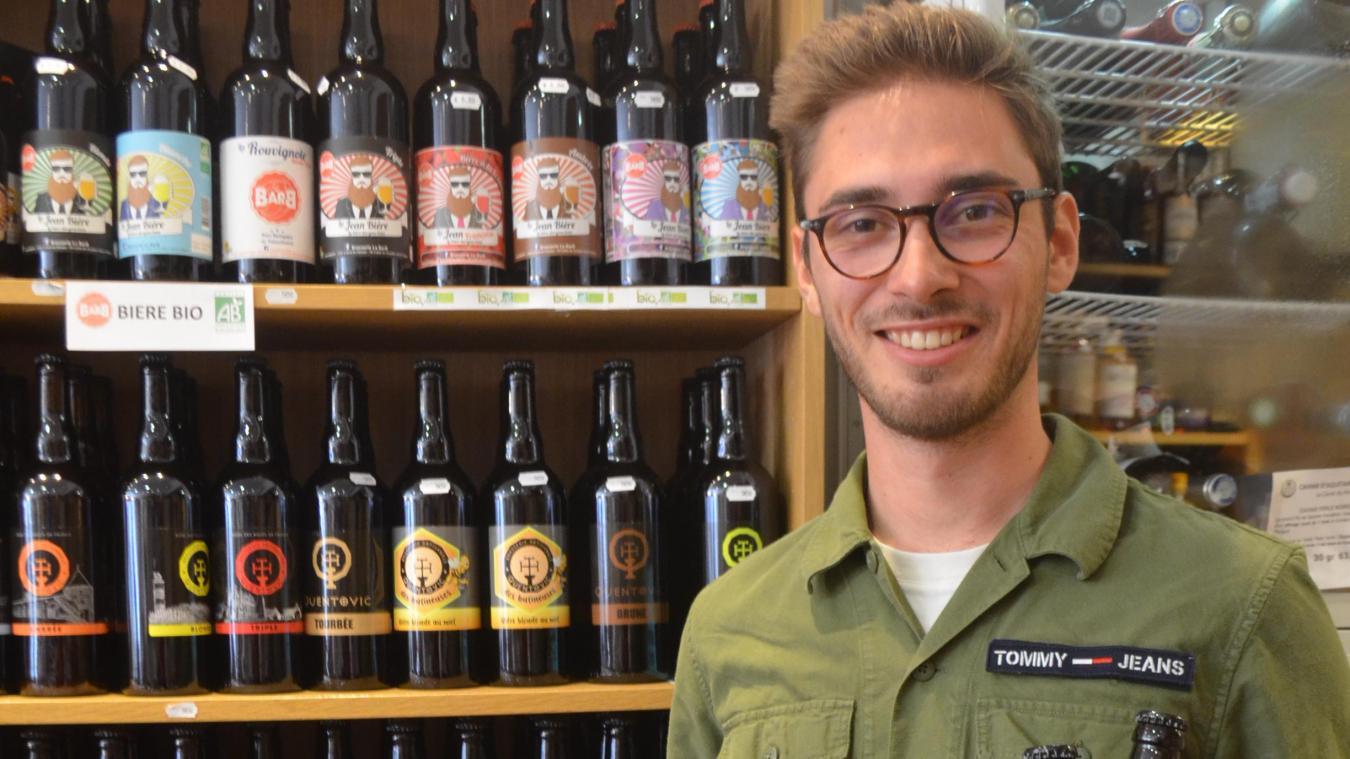 Paul Hénon veut faire la promotion des bières artisanales via un site de vente par abonnement, une sorte de plateforme numérique houblonnée.