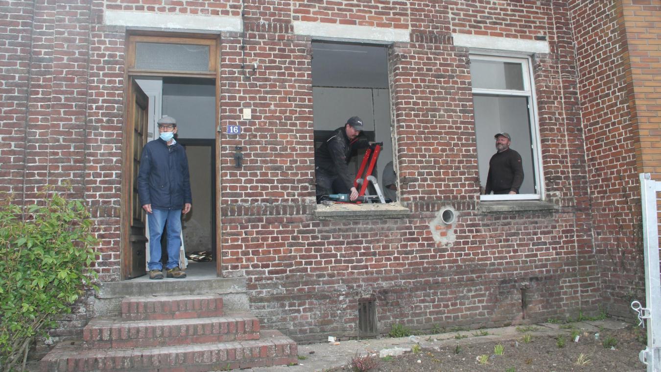 Bavinchove: le chantier du futur dortoir de l'école se poursuit