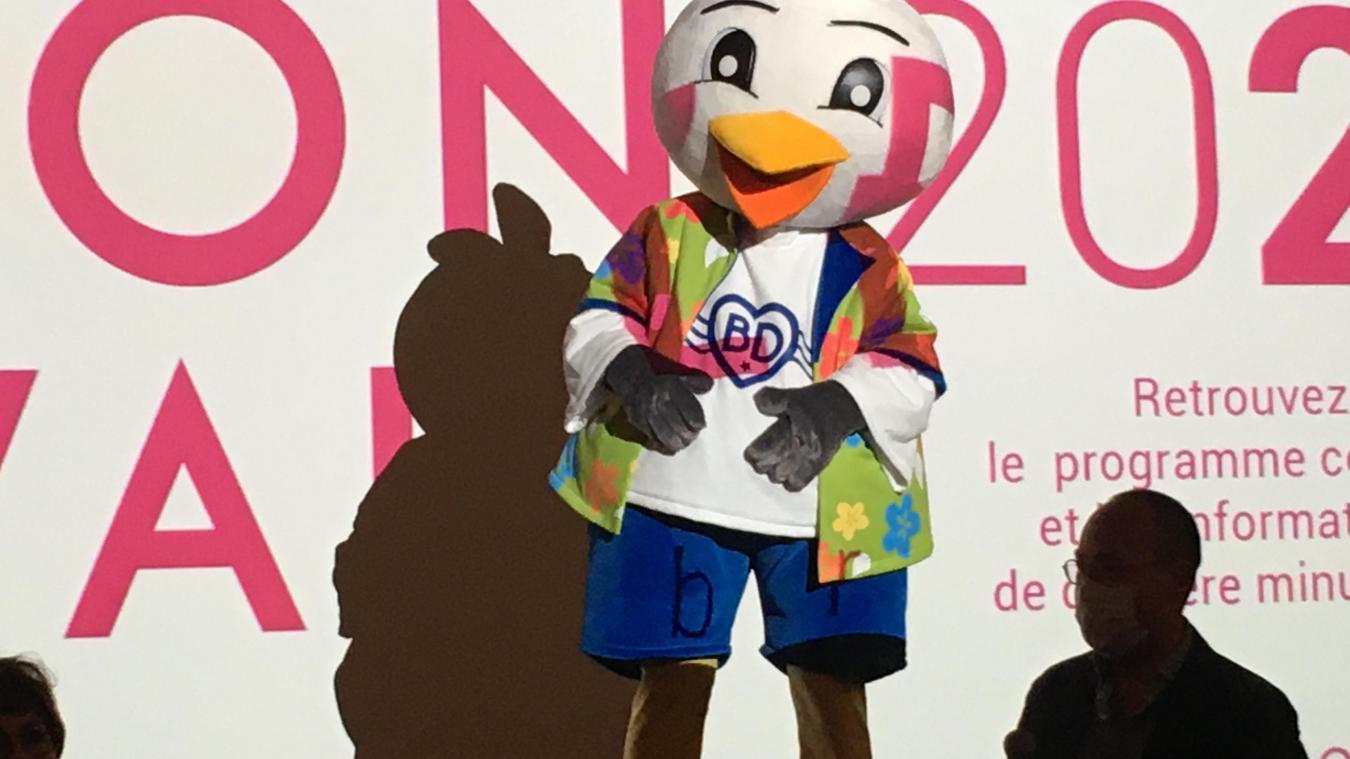 Bidy est la nouvelle mascotte de Bray-Dunes.