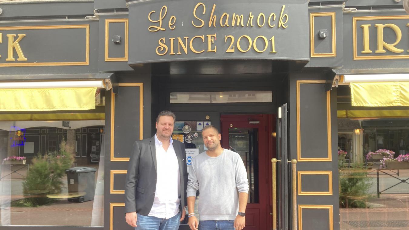 Matthieu Bouchez et Maxime Debelvalet sont les nouveaux propriétaires du Shamrock.