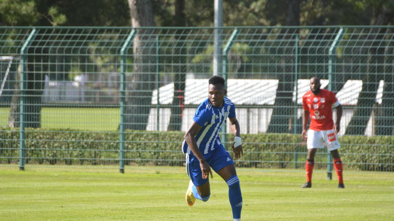 Désiré Segbé Azankpo a inscrit son premier but avec Dunkerque contre Beauvais (N2) en match de préparation, mardi 6 juillet.