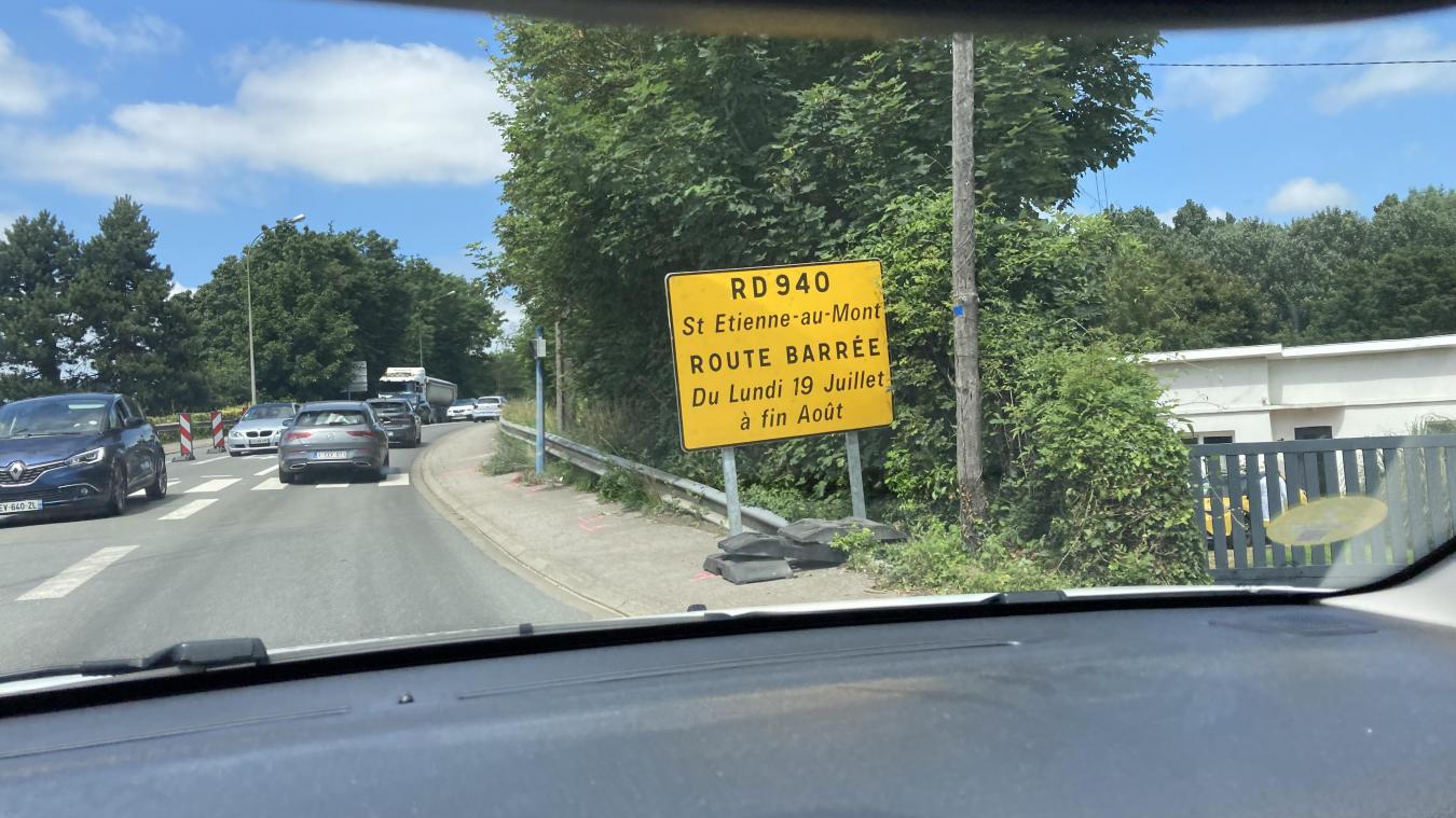 La RD940 sera fermé jusqu'au 29 août.
