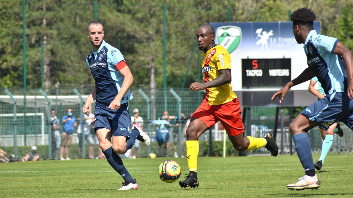 Les coéquipies de Gaël Kakuta n'ont pas eu la tâche facile face aux Havrais.