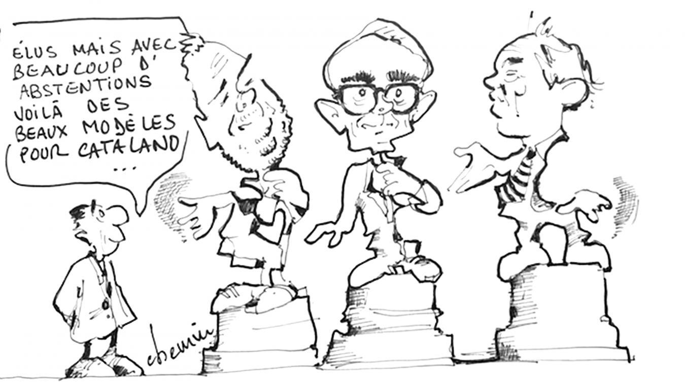 Le dessin de la semaine inspiré par les œuvres de Catalano à Étaples-sur-Mer
