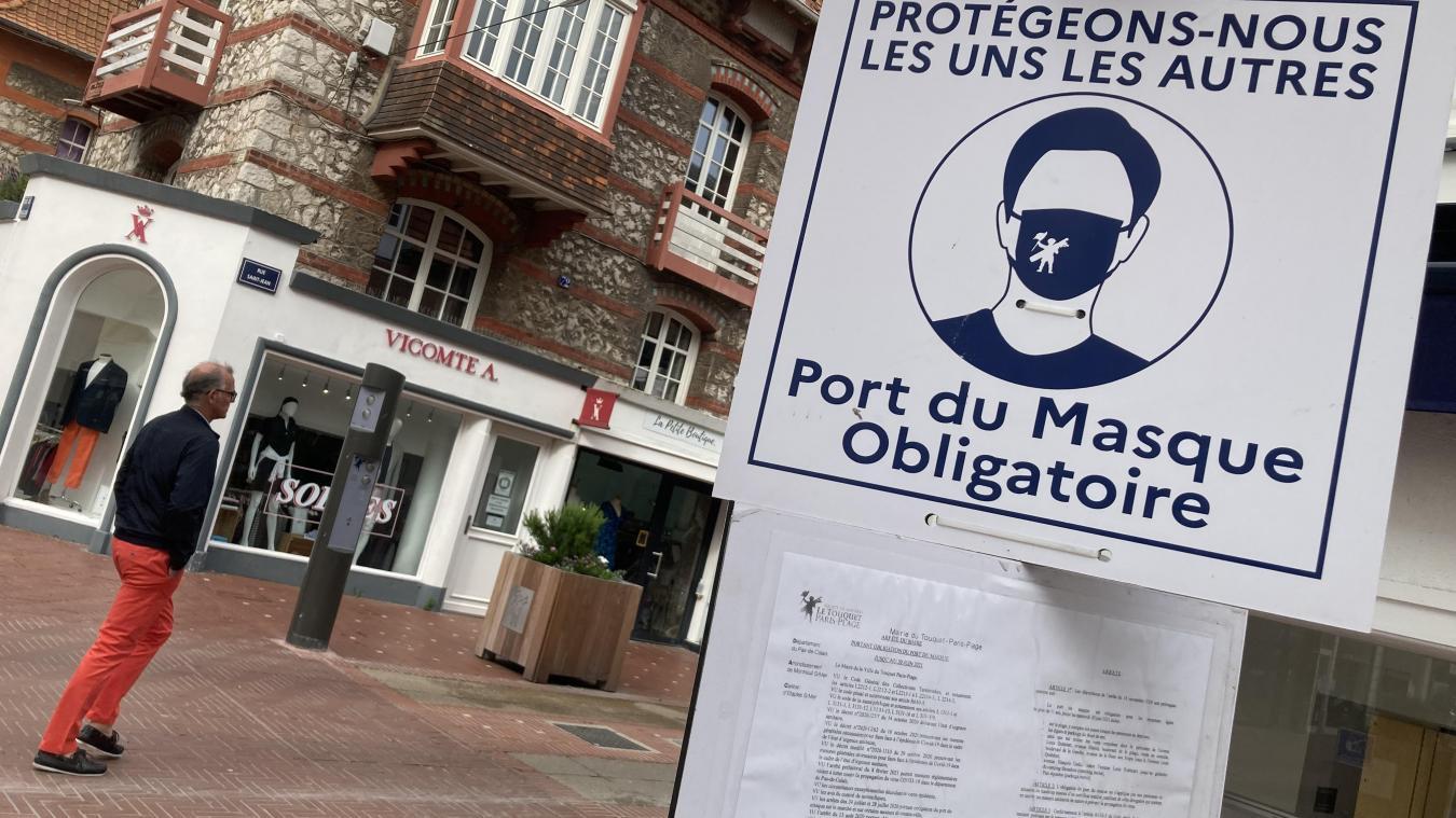 La rue Saint-Jean au Touquet est notamment concernée