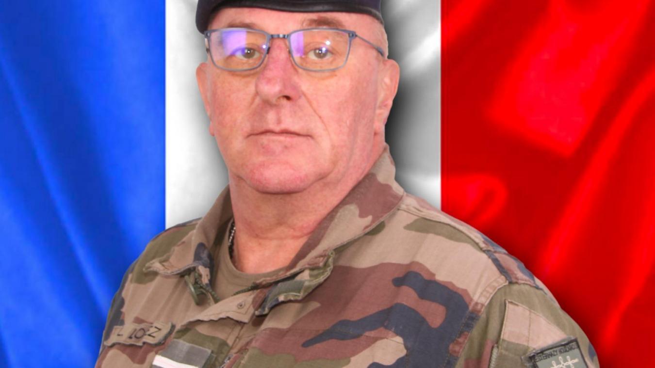L'adjudant-chef Ludovic Logez effectuait sa dernière opération après 36 années au sein de l'armée.