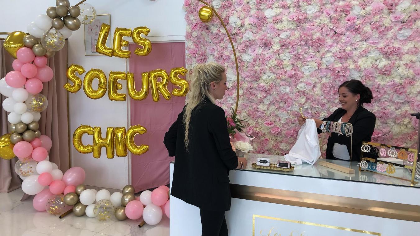 La boutique les Sœurs Chics a ouvert le 18 juillet à Grande-Synthe.