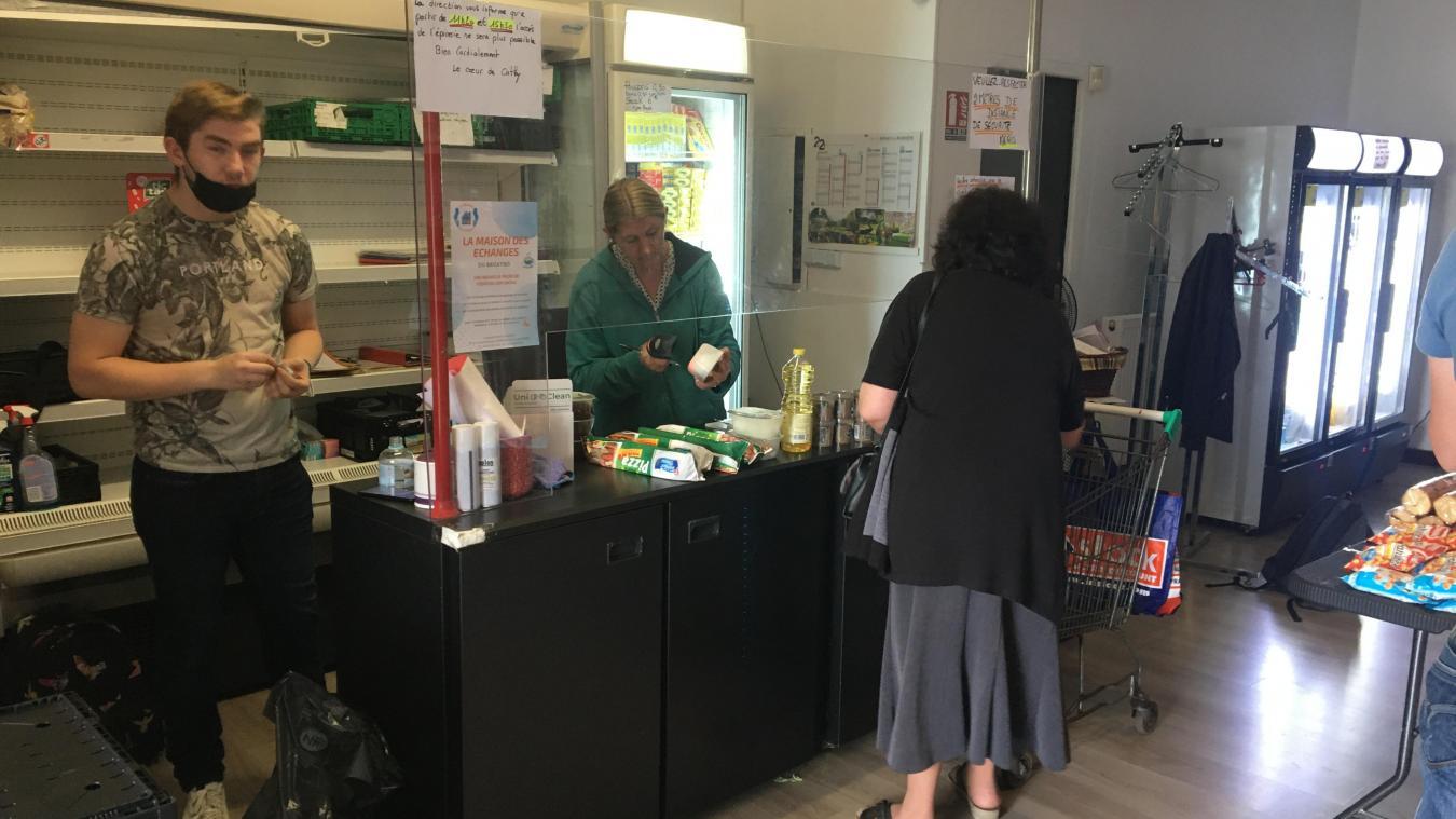 L'épicerie solidaire cherche un nouveau local pour s'agrandir.