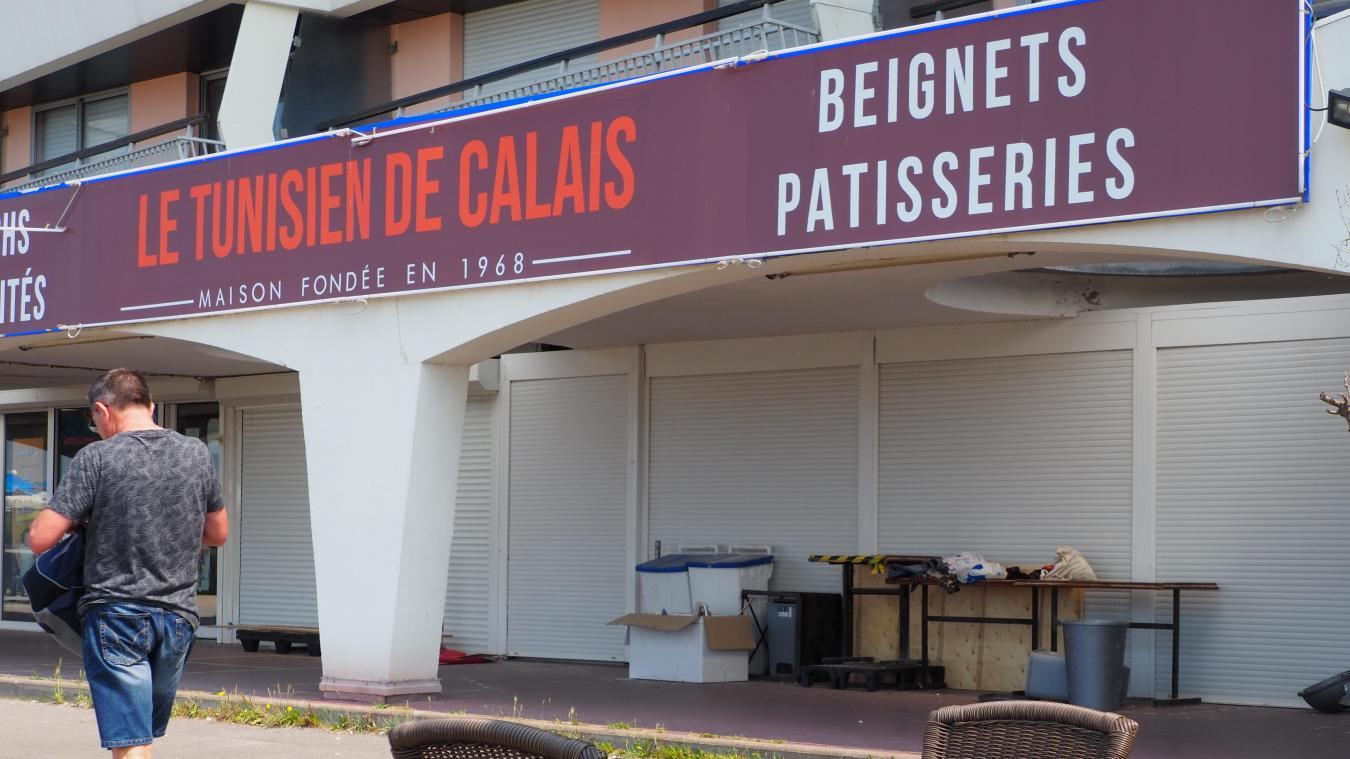 Le Tunisien de Calais est fermé depuis le mois de mai.