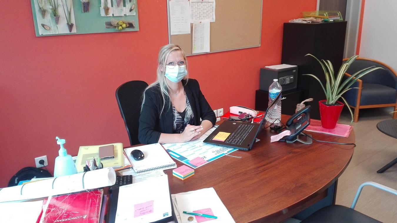 Amandine Massemin est la nouvelle directrice de l'Ehpad Clairefontaine à Hazebrouck.