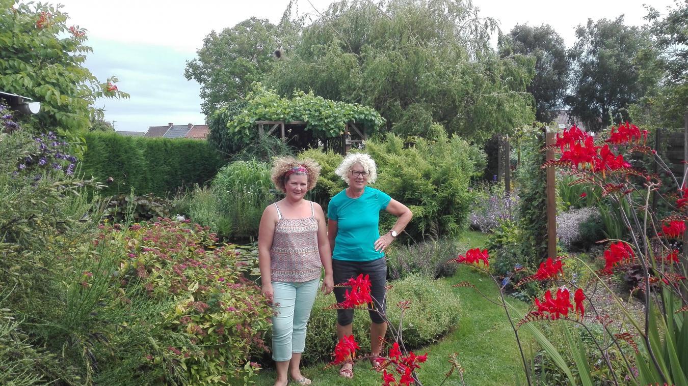 Françoise Vermersch et Delphine Dethoor, une mère et sa fille qui ont la main verte.