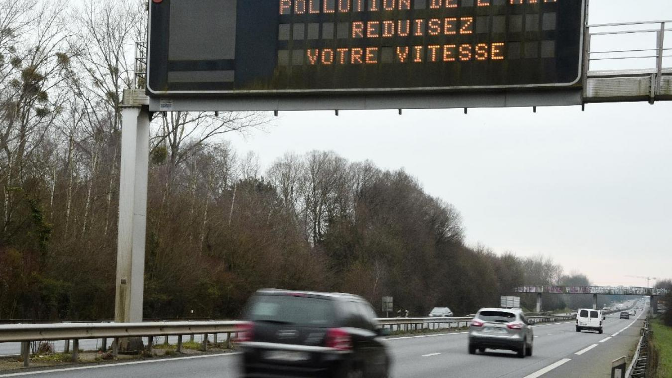 Épisode de pollution aux particules fines dans le Nord-Pas-de-Calais
