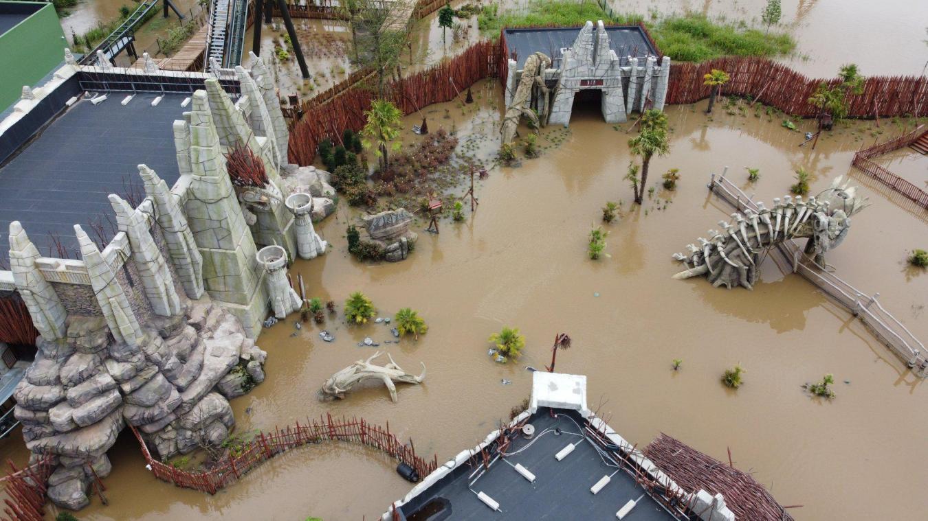 Le parc belge restera fermé plusieurs semaines