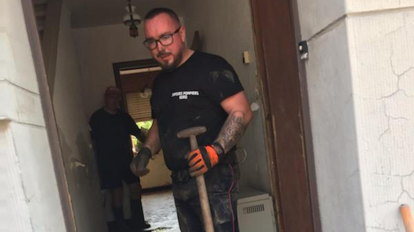 Ce jeudi 22 juillet au matin, Jonathan était à pied d'œuvre en Belgique.