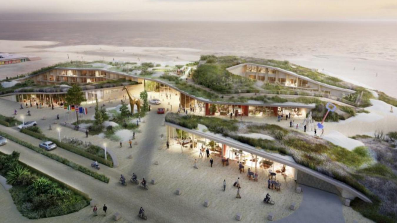 Si le calendrier est respecté, le complexe hôtelier The Dune pourrait ouvrir pour l'été 2024.
