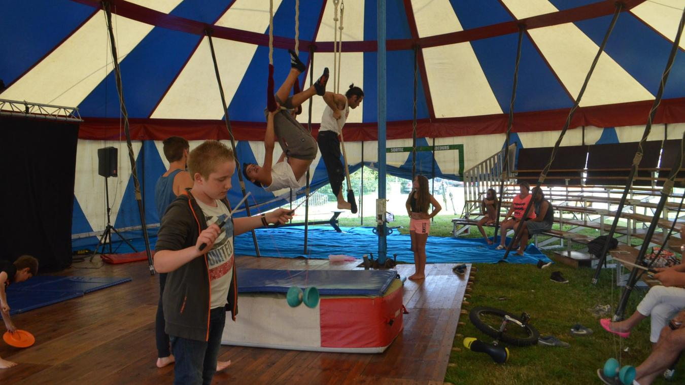 A partir du 24 juillet, un village du cirque sera installé au Mont-Soleil.