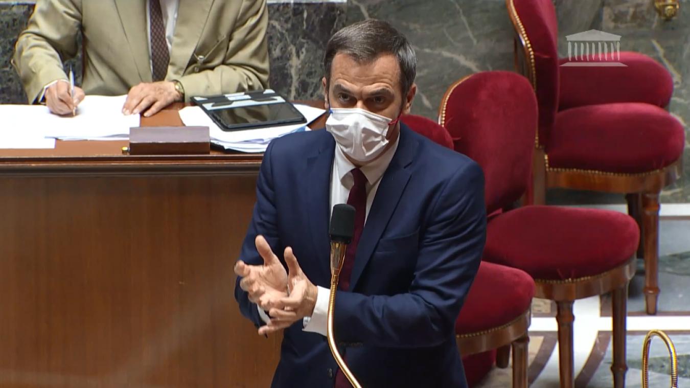 Le ministre de la santé Olivier Véran a exhorté les députés à voter le projet de loi