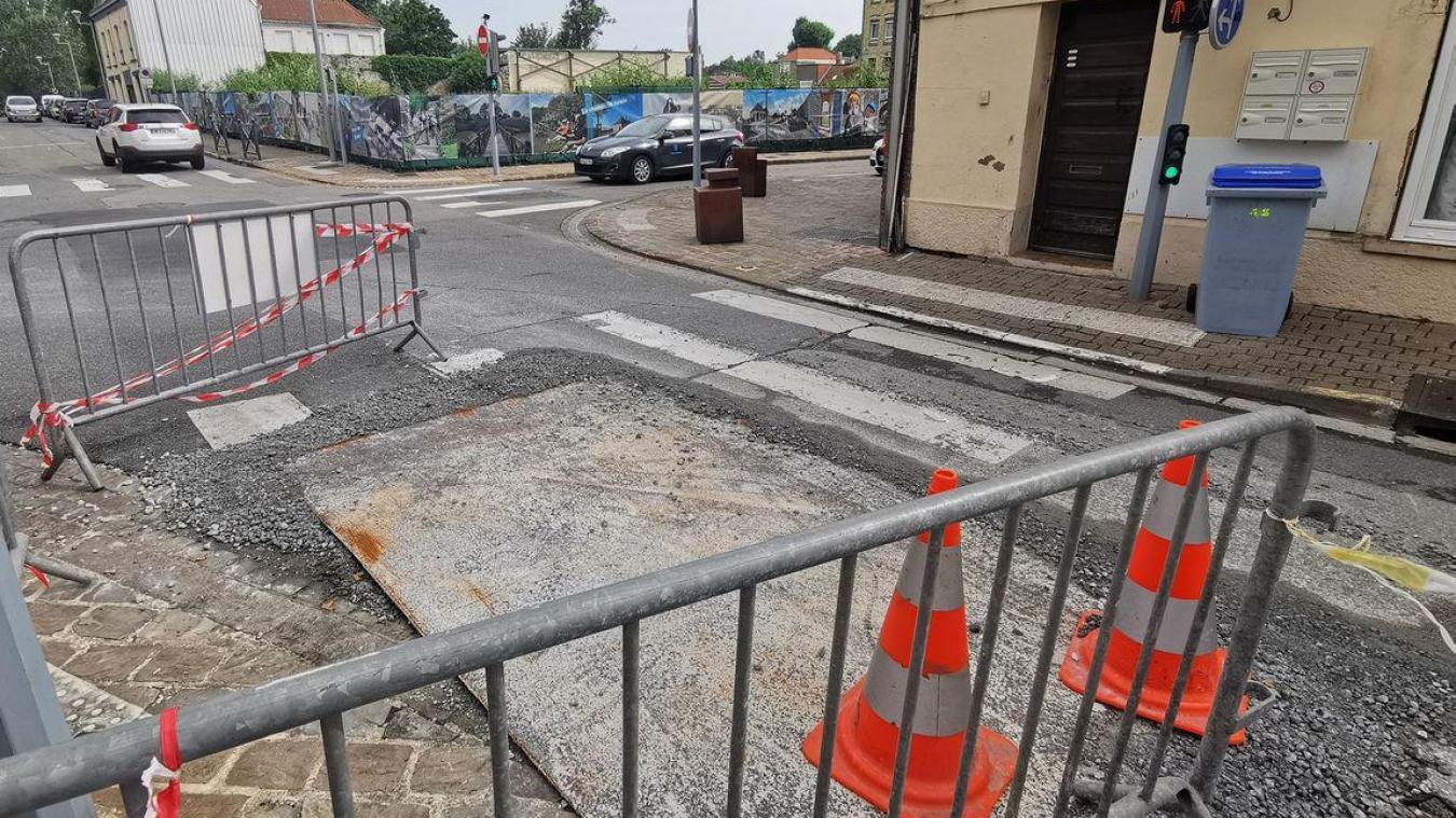 Des travaux rue Léon Blum à partir du 26 juillet jusqu'au 29 juillet.