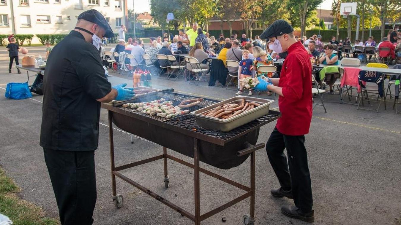 L'année dernière, les barbecues de quartier avaient fait le plein, notamment dans le quartier du Petit Steendam.