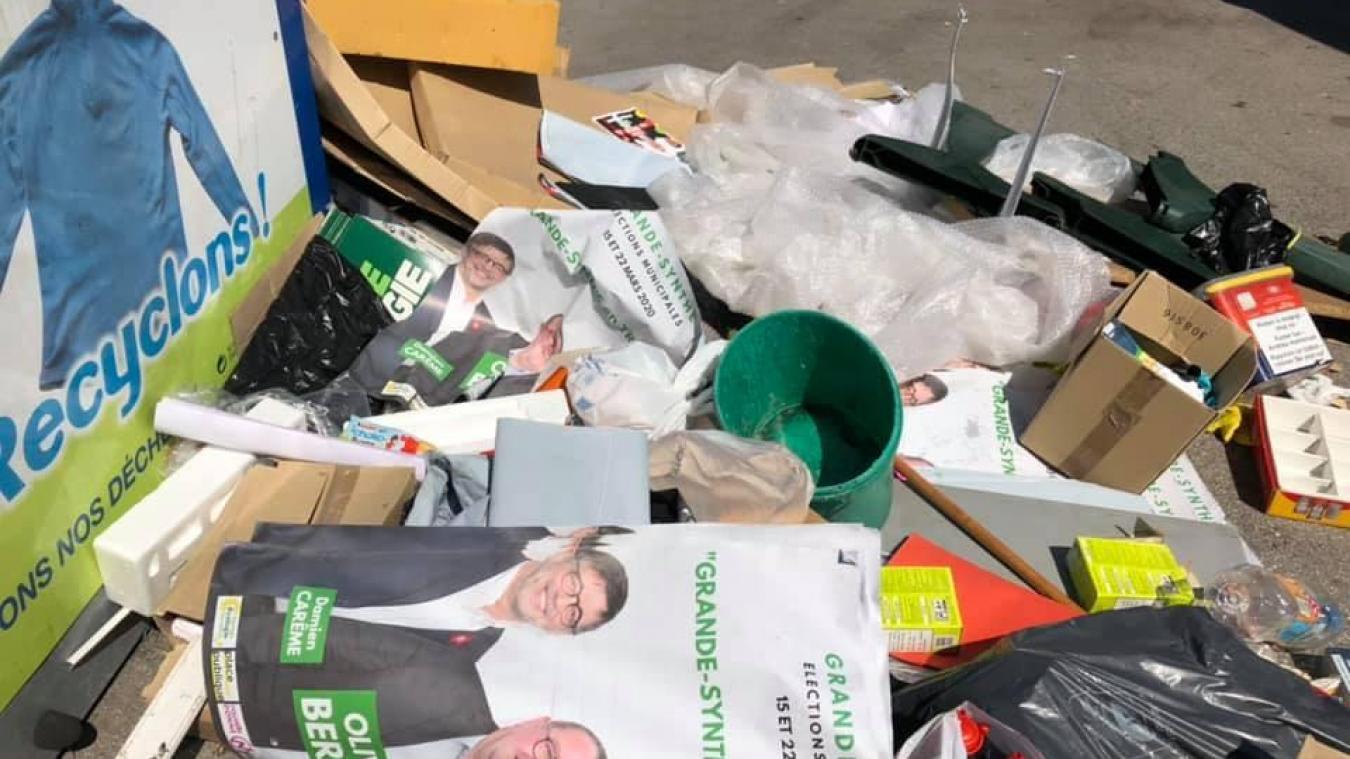 Les élus espèrent diminuer le nombre de dépôts sauvages dans leur commune.