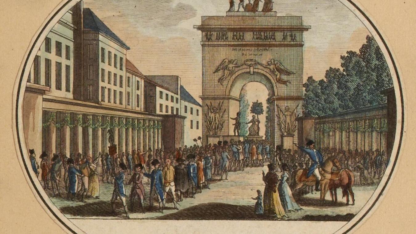 Fête de la Fédération du 10 juillet 1793 (an I) – Musée Carnavalet