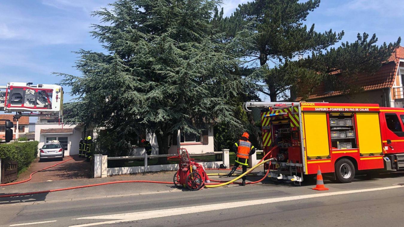Les sapeurs-pompiers de Berck-sur-Mer sont intervenus aux alentours de 13h ce samedi 24 juillet.