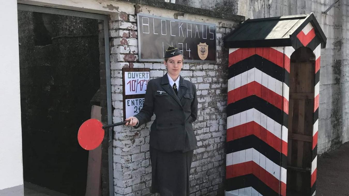 Des reconstitutions permettent de comprendre comment vivaient les soldats Allemands à l'intérieur du blockhaus.